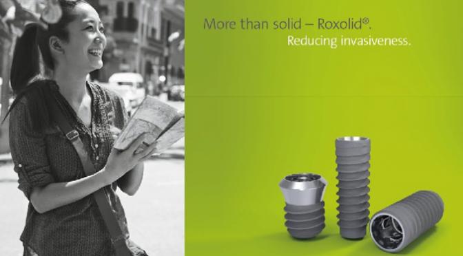 クリア歯科のインプラント治療において最新のストローマン社ROXOLID/SLActive®を導入開始!!