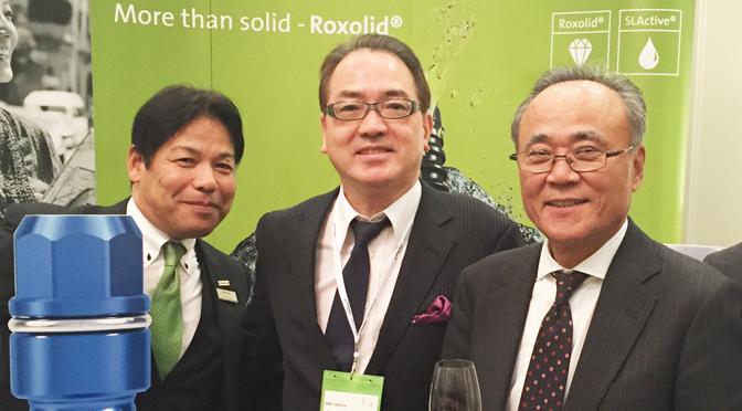 【2015/12/10】ストローマングループ日本初の新工場設立のレセプションに招待いただきました。